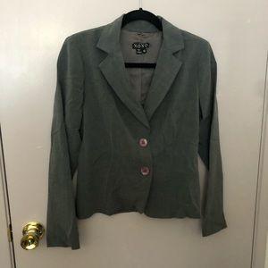 Xoxo grey suit jacket